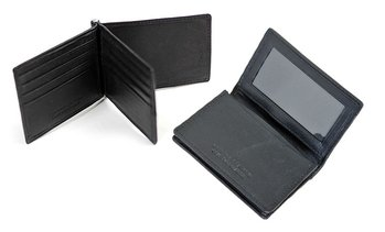 Anti-RFID Leather Wallet