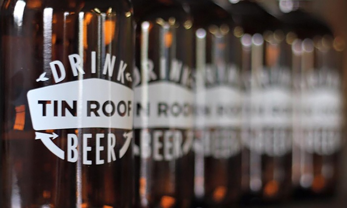 Attractive ... Tin Roof Brewing Company   Baton Rouge: $26 For Tasting Package For Two  At Tin ...
