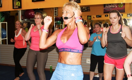 10 or 20 Zumba, Kickboxing, Pilates, or Boot-Camp Classes at Knock Out Fitness (55% Off)