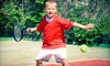 Team Bay Tennis - Multiple Locations: Two or Four Mini Tennis or Junior Tennis Lessons at Team Bay Tennis (Up to 55% Off)