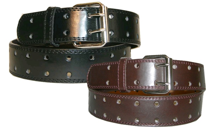 Big and Tall 2-Hole Belts (2-Pack)