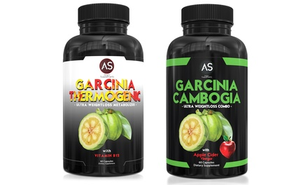 Angry Supplements Garcinia Thermogenic and Garcinia Cambogia (2-Pack)