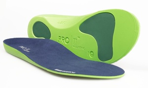 2 Pairs of Pro11 Orthotic Insoles