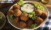 Menu cuisine syrienne