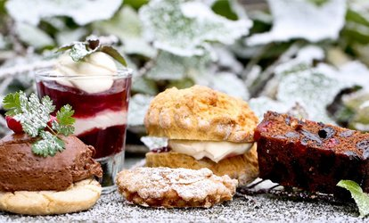 image for Seasonal Afternoon Tea with Optional Prosecco for Two or Four at Stirk House Hotel (Up to 36% Off)