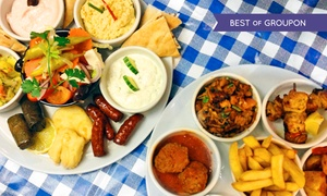 Simply Greek Tavern: Greek Meze Dining Experience for Two at Simply Greek Tavern (50% Off)