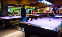Two Hours of Ping Pong, Snooker or Pool with Cheese Nachos Sharing Platter at The Ball Room Sports Bar (47% Off)