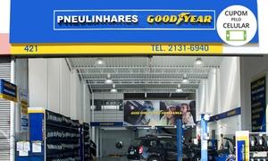 Pneulinhares - Santos: Alinhamento + balanceamento + rodízio + calibragem + check-up (opção com cambagem e óleo) na Pneulinhares – Vila Matias