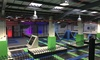 Mega Jump - Borehamwood: Trampoline Party with Optional Pizza and Drinks for Ten Kids at Mega Jump (Up to 33% Off)