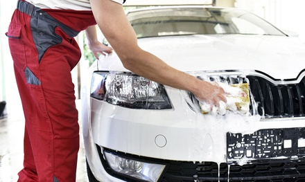 $55 for an Ultimate Clean Car Wash Package at Ultimate Wash and Cafe Up to $99.95 Value