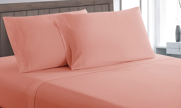 Allure 100% Cotton Jersey Sheet Set (3  Or 4 Piece) ...
