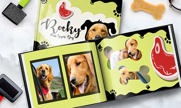 880b9f30206e One or Two Personalized Dog or Cat Photo Books from Printerpix (Up to 86%  Off)