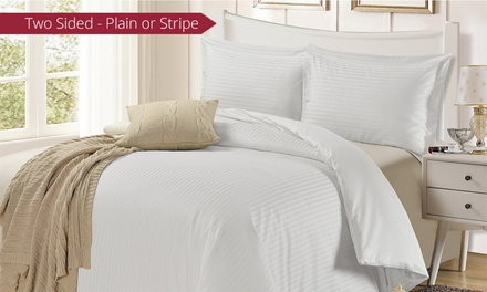TC TwoSided Egyptian Cotton Quilt Cover Set Don't Pay up to $319