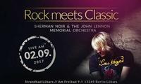 """1, 2, 4 oder 6 Tickets für """"Rock meets Classic"""" am Samstag, den 02.09.2017 im Strandbad Lübars (bis zu 58% sparen)"""