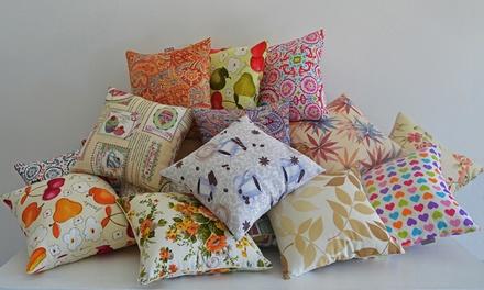 Set di 2 cuscini arredo disponibili in 2 dimensioni e varie fantasie