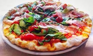 Dario y Massimo Pizzeria: Menú italiano para 2 o 4 con pizzas gourmet en horno de leña, bebida o lambrusco premium desde 12,95€ en Dario y Massimo