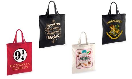 Bolsa de mano de algodón Harry Potter Oferta en Groupon