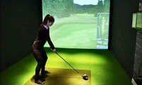 Golf Simulator for Up to Two or Four at Sports Sim (Up to 28% Off)