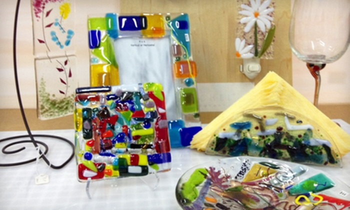 Glass House Designs - Lowell: $10 for $20 Worth of Open-Studio Glass-Fusing Projects at Glass House Designs