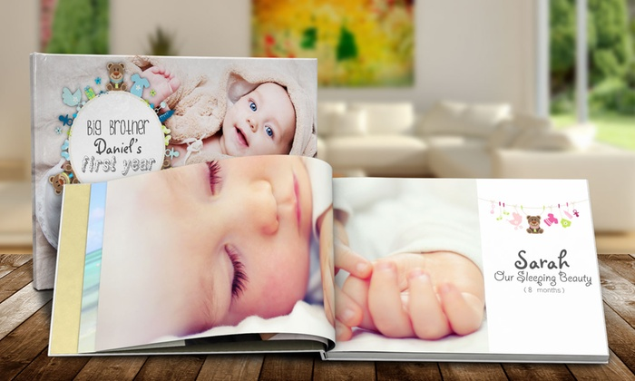 Custom Hardcover Photo Books from Printerpix