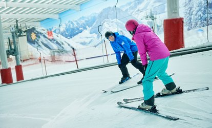 One or Six Two-Hour Ski or Snowboard Adult Group Lessons for One at The Snow Centre (Up to 58% Off)