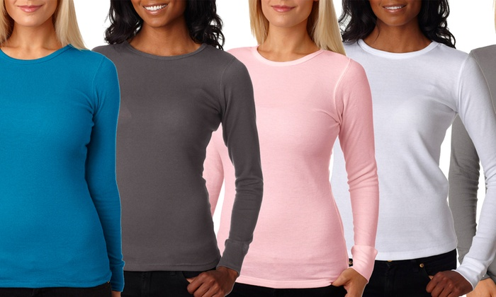 Thermal Shirts For Women. Try on thermal shirts for women and find a brand new wardrobe staple. Step away from traditional basics, such as T-shirts and sweaters.