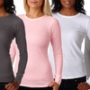 Women's Long-Sleeve Thermal Shirts (2-Pack)