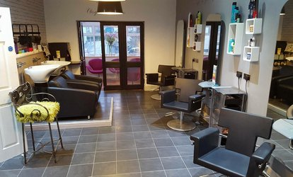 image for Wash, Cut and Blow-Dry with Conditioning Treatment at Hair At Rage