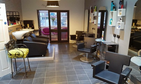 Wash, Cut and Blow-Dry with Conditioning Treatment at Hair At Rage