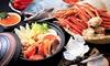 大阪/心斎橋 待望の再登場。この時期限定のいくらや蟹等北海幸祭りブッフェを堪能