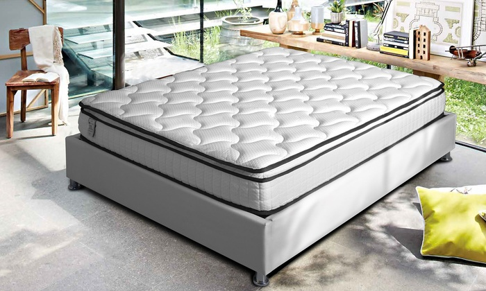 jusqu 39 85 matelas m moire forme sampur groupon. Black Bedroom Furniture Sets. Home Design Ideas