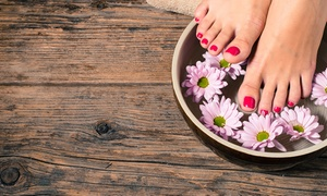 Healthy Nails by Jasna: One or Two Ion Detox Foot Baths from Healthy Nails By Jasna (52% Off)