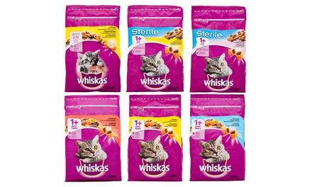 Fino a 28 confezioni di croccantini per gatti Whiskas disponibili in varie tipologie
