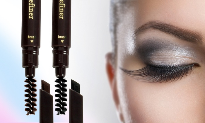 1 ou 2 mascaras et pinceaux pour redfinir la ligne du sourcil noir ou brun dès 590 € (jusquà 53% de rduction)