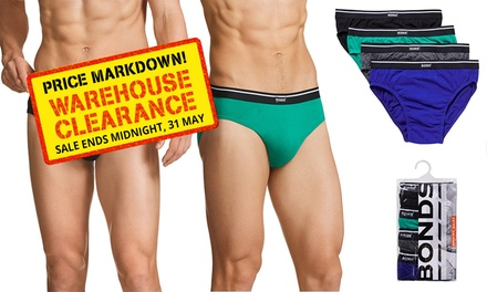 $12.95 for a Pack of Eight Bonds Men's Briefs (Don't Pay $53.90)