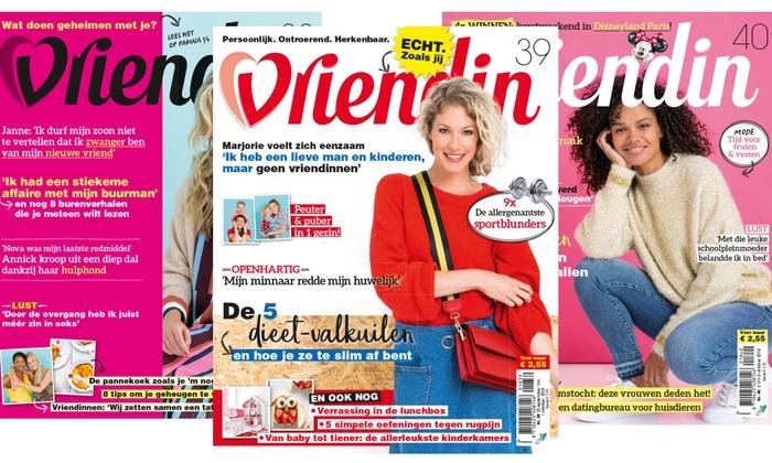 vriendin tijdschrift abonnement