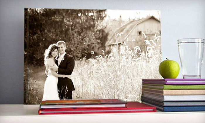 Photobook Canada: Imagewrap Hardcover Photo Book from Photobook America & Canada (Up to 64% Off). Three Options Available.