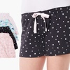 Olive Street Women's Knit Pajama Short Set (4-Pack)