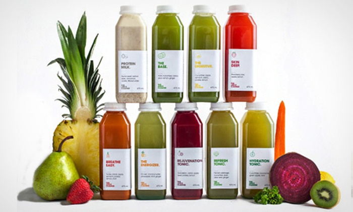 Juice Cleanse UK - Novotel Greenwich Hotel: The Juice Cleanse: Three, Five or Seven-Day Programme from £79 (Up to 61% Off)