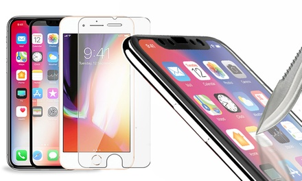 ShatterGuardz Tempered Glass Screen Protectors for iPhones (3, 5, or 10-Pack)
