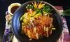 Asiatisches 3-Gänge-Gourmet-Menü