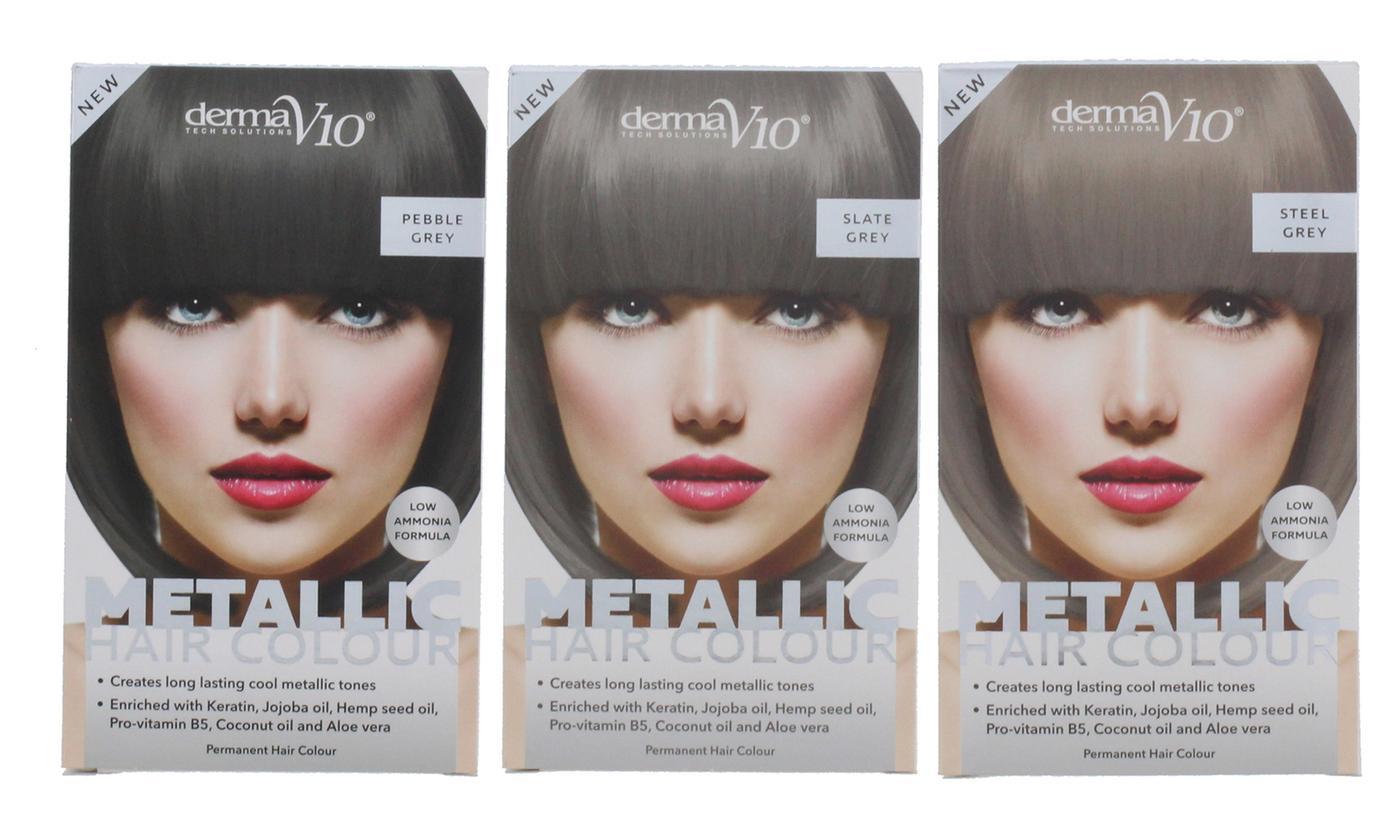 Derma V10 Metallica Hair Colour Two-Pack