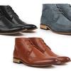 Gino Pheroni Men's Wingtip Boots