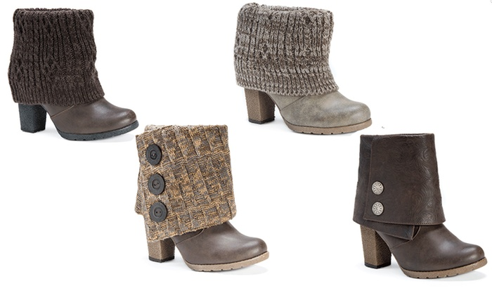 MUK LUKS Women's Chris Boots