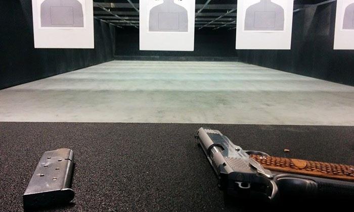 Hanford shooting range