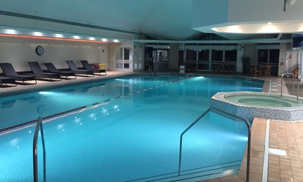 10 health club passes livingwell leicester groupon for Outdoor swimming pool leicester