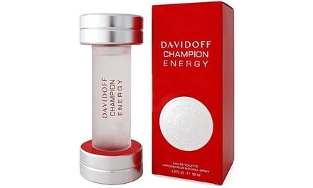 Davidoff Champion Energy Men's Eau de Toilette Spray 90ml