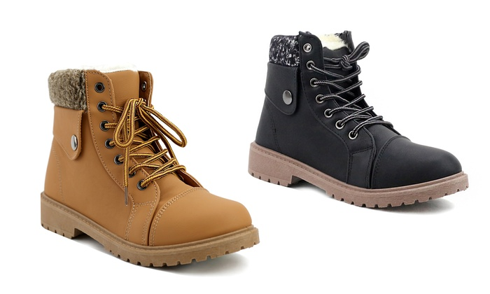 Olivia Millier Women's Work Boot | Groupon Goods
