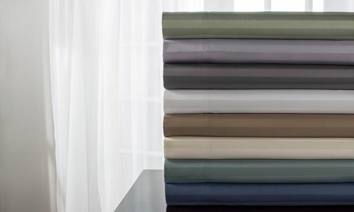 delray stripe sheet set 6piece delray