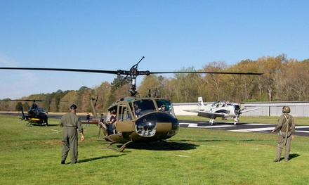 Plane or Helicopter Flight Experiences at Hixson Museum of Flight (Up to 50% Off). Five Options Available.